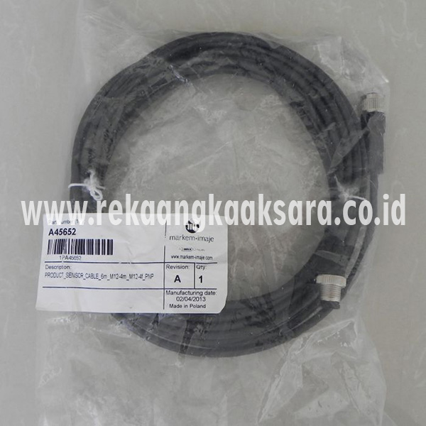 Imaje S4 S8 prcduct sensor cable 6m A45652